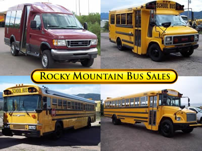 Rocky Mountain Bus Sales - Old Bus - Used Bus