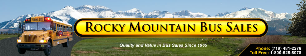 Rocky Mountain Bus Sales - Used Bus Sales - Used Busses for Sale